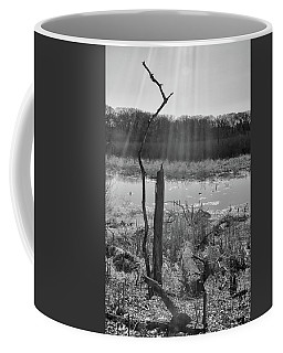 Black And White Bog Coffee Mug
