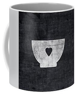 Black And White Bowl- Art By Linda Woods Coffee Mug