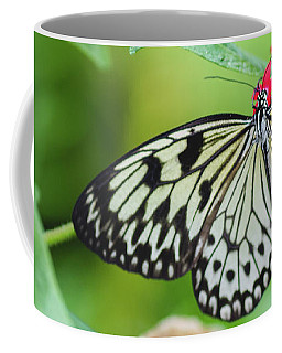 Black And White Butterfly Coffee Mug