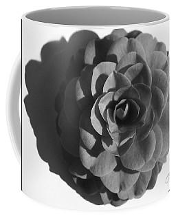 Camellia In Black And White Coffee Mug