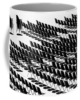 Black And White Chairs Coffee Mug