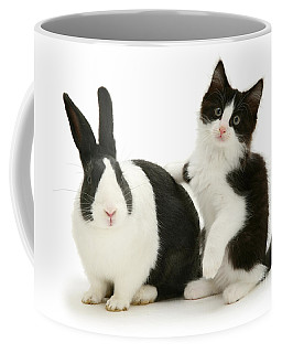 Black And White Double Act Coffee Mug