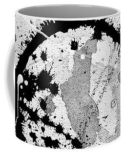 Black And White Five Coffee Mug