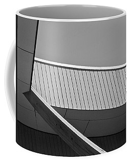 Black And White Geometric Architectural Abstract 3 Coffee Mug