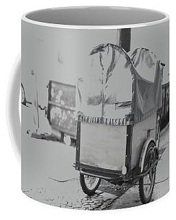 Black And White German Stroller Coffee Mug
