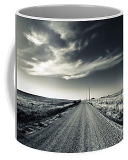 Black And White Gravel Coffee Mug
