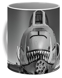Black And White Hog - 2017 Christopher Buff, Www.aviationbuff.com Coffee Mug