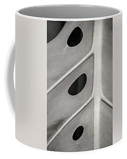 Black And White Holy Leaf Coffee Mug
