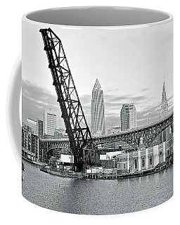 Coffee Mug featuring the photograph Black And White In Daylight by Frozen in Time Fine Art Photography