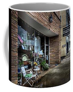 Black And White Market Coffee Mug