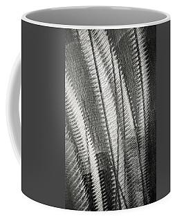 Black And White Metal Abstract Coffee Mug