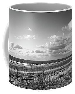 Black And White Ocean Scene Coffee Mug