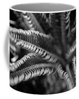 Black And White Palm Abstract 3624 Bw_2 Coffee Mug