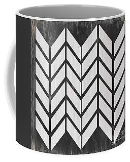 Black And White Quilt Coffee Mug