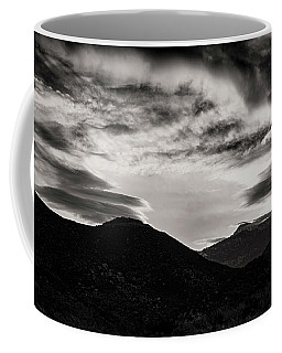 Coffee Mug featuring the photograph Black And White Sunrise by Joseph Hollingsworth