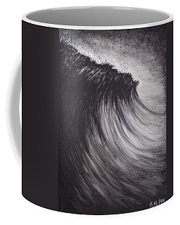 Black And White Wave Guam Coffee Mug