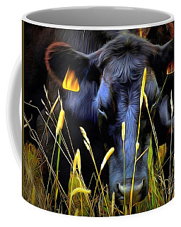 Black Angus Cow  Coffee Mug