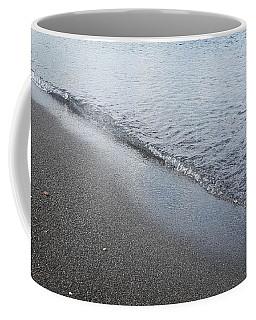 Black Beach Shore Coffee Mug