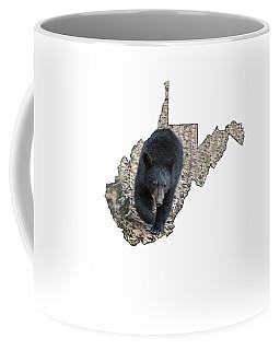 Black Bear Coming Close Coffee Mug
