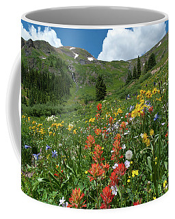 Coffee Mug featuring the photograph Black Bear Pass Landscape by Cascade Colors