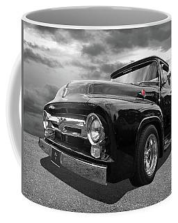 Black Beauty - 1956 Ford F100 Coffee Mug