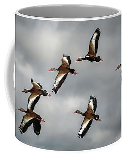 Black Bellied Whistling Ducks Coffee Mug