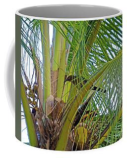 Black Bird In Tree Coffee Mug