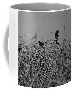 Black Birds Coffee Mug by Eric Tressler