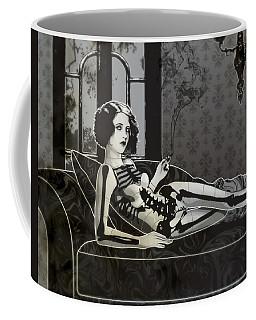 Black Blanche Coffee Mug