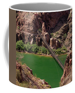 Black Bridge, Grand Canyon  Coffee Mug