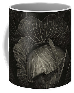 Black Cabbage Coffee Mug