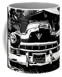 Black Cadillac Coffee Mug