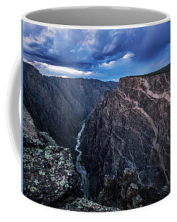 Coffee Mug featuring the photograph Black Canyon Of The Gunnison National Park by Nadja Rider