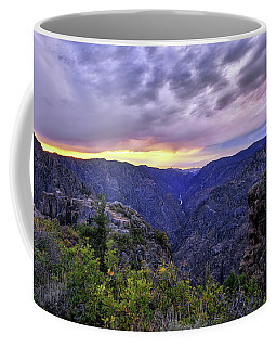 Black Canyon Sunset Coffee Mug