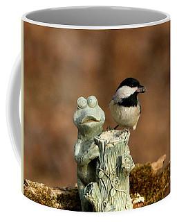 Black-capped Chickadee And Frog Coffee Mug