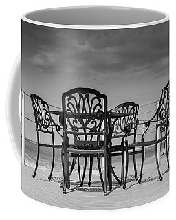 Black Cast Iron Seats Coffee Mug