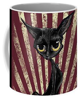 Black Cat Revolution Coffee Mug