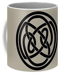 Black Celtic Knot Coffee Mug by Jane McIlroy