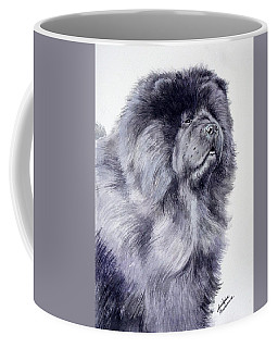 Black Chow Chow  Coffee Mug