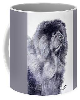 Black Chow Chow  Coffee Mug