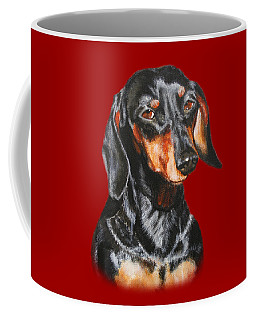 Black Dachshund Accessories Coffee Mug