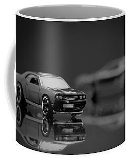 Black Dodge Challenger Coffee Mug