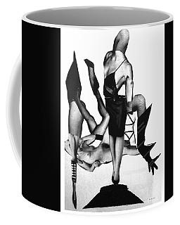 Black Drag-en Point Coffee Mug