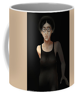Black Dress Coffee Mug