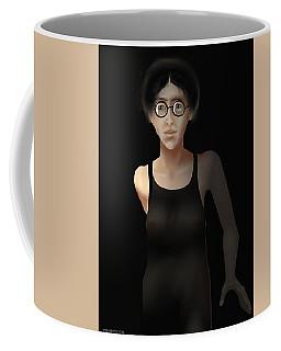 Black Dress Coffee Mug