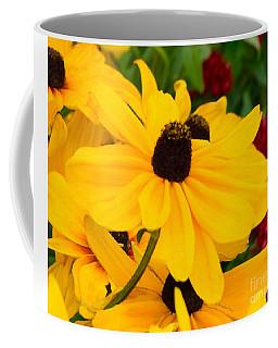 Black-eyed Susan Floral Coffee Mug