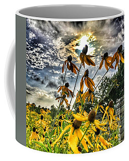 Coffee Mug featuring the photograph Black Eyed Susan by Sumoflam Photography
