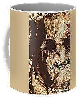 Black Eyes And Dried Out Hearts Coffee Mug