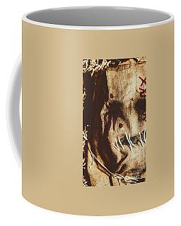 Black Eyes And Dried Out Hearts Coffee Mug