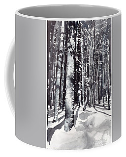Black Forest Watercolor Coffee Mug